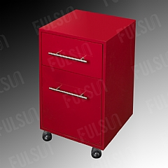 Steel Cabinet with Drawer and Casters