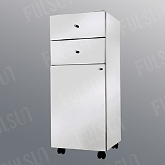 Freestanding Stainless Steel Drawer Unit