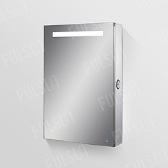 Muti-function Aluminum Mirror Cabinet, with Blue-tooth Speaker